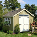 Little Cottage Company Colonial Williamsburg Wood Storage Shed