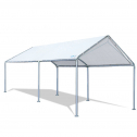 Quictent 10X20ft Upgraded Heavy Duty Car Canopy Galvanized Frame